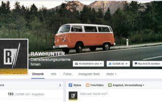 Rawhunter Facebook