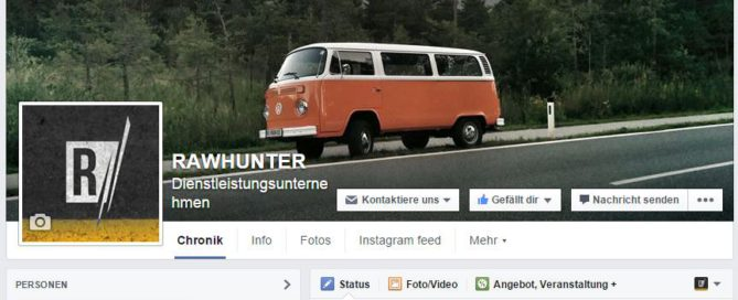 Rawhunter Facebook