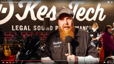 Kesstech Custombike Show 2015 Cover