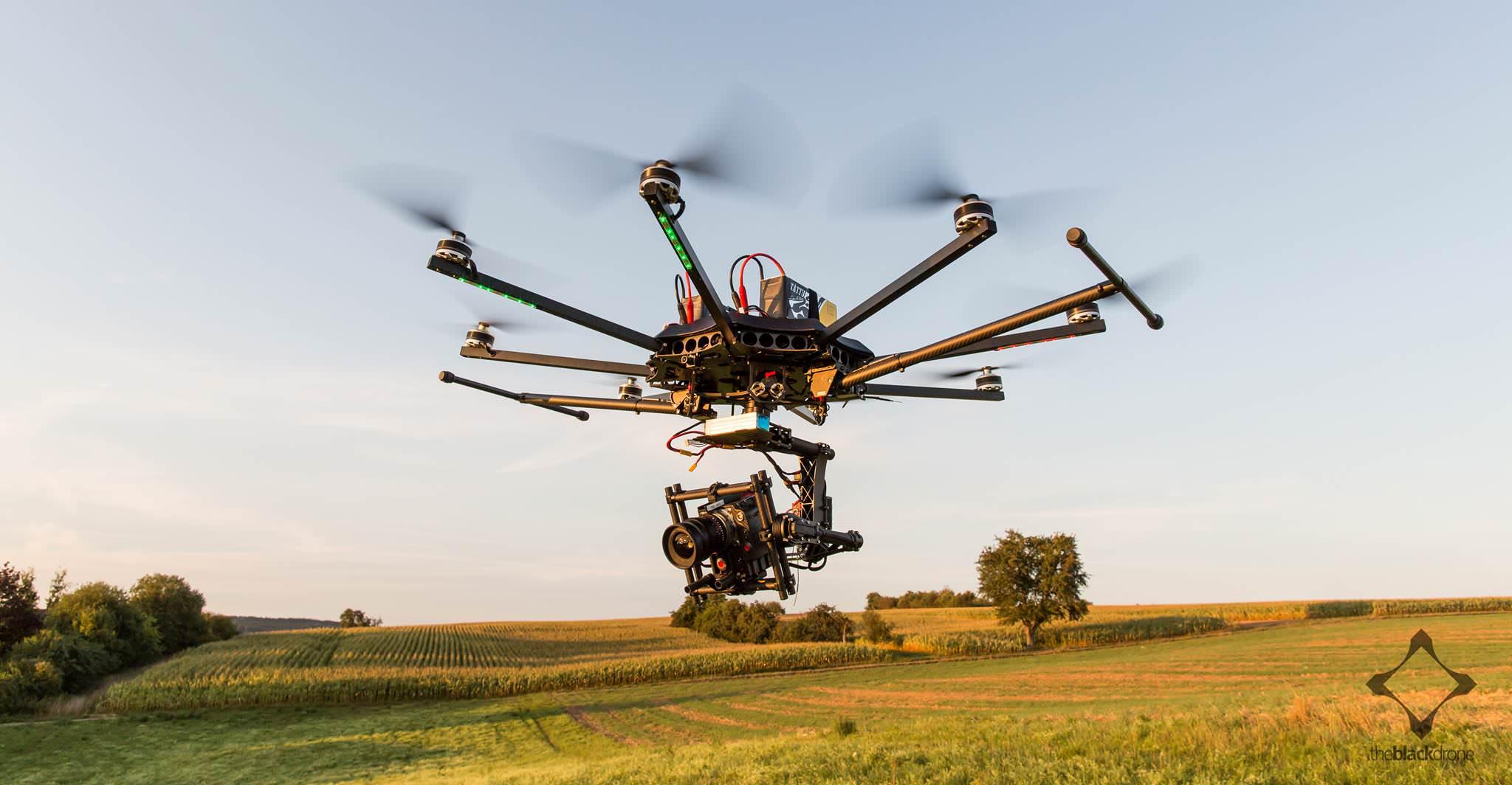 theblackdrone RAW copter