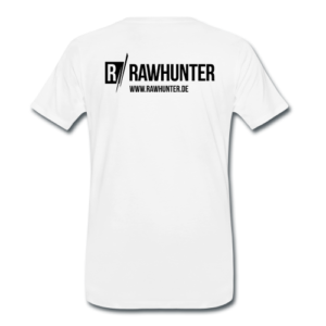 Rawhunter T-shirt Rücken