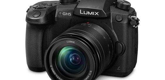 Panasonic Lumix GH5 front