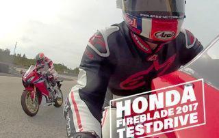 Honda Fireblade 2017 Cover