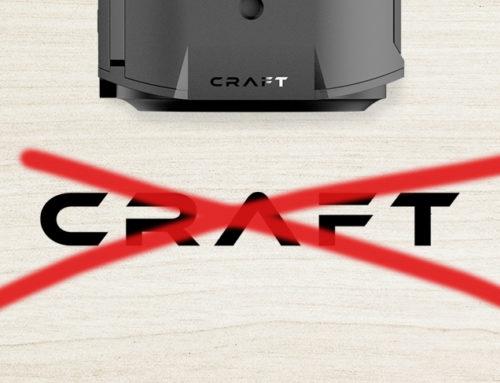 Modulare Craft Camera eingestellt