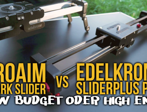 Review: ProAim Spark Slider vs. Edelkrone SliderPlus Pro