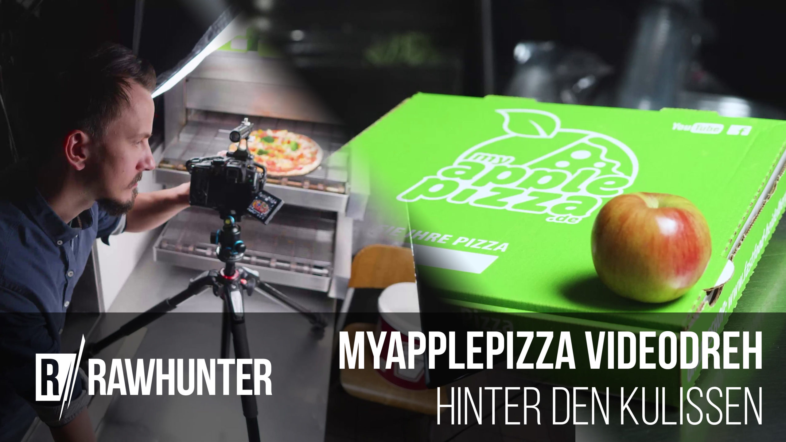 MyApplePizza Making-Of Cover